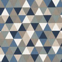 Színes háromszögek - kék, szürke