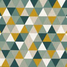 Színes háromszögek - türkiz, okker