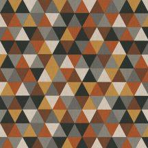 Színes háromszögek - barna