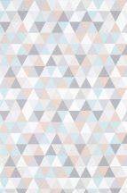 Színes háromszögek - pasztell