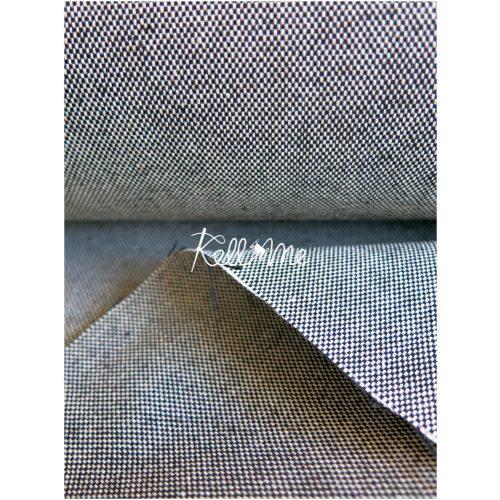 Fekete - fehér szövött textil