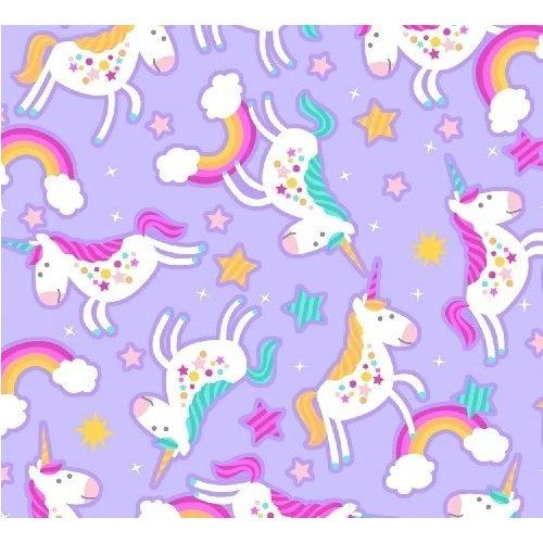 Cubby Unicorns - Flannel