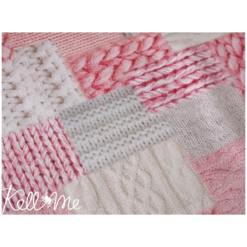 Knitted in babypink