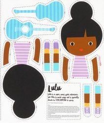Girl Friends Doll Panel Lulu