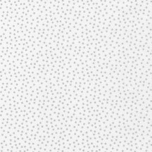 Remix Dot Metallic Silver On White