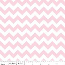 Small Chevron Baby Pink