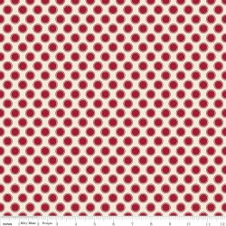 Postcards For Santa Dots Red