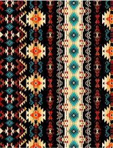 Tribal Print Black