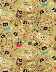 Treasure Map Sand