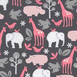 It's a Girl Thing Zoology Bloom pink animal