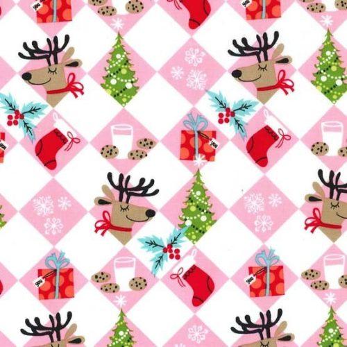 Holiday Row Tinsel Tiles Multi
