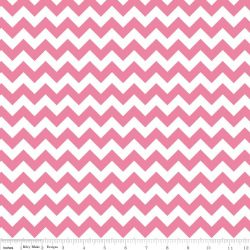 Knit Small Chevron Hot Pink