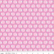 Wildflower Meadow Hedgehogs Pink in Knit