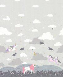Believe Magic meadow with metallic Cloud
