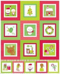 Santa Express Panel Green