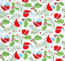 Merry Christmas - Jolly Holly - Merry