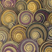 Philip Jacobs - Spring 2015 -Spiral Shells - Brown