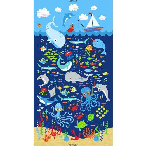 Sealife Panel Navy