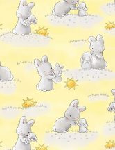 Little Star - Bunnies and little ones Yellow