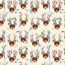 Dream Away Decorated Deer Foam