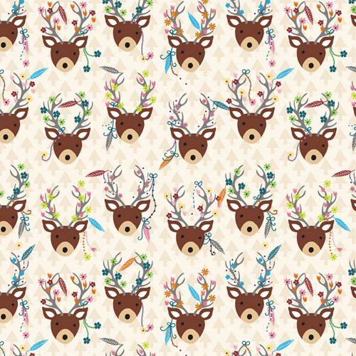 Dream Away Decorated Deer Foam