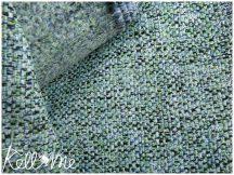 Többszínű szövet - zöld-kék-fekete