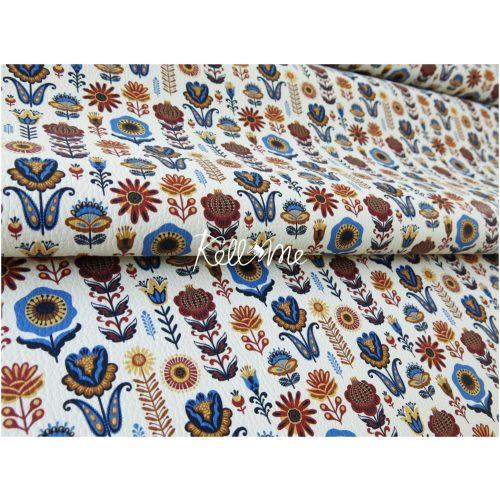 Textilbőr - Modern Folklor Mini