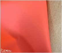 Textilbőr - korall