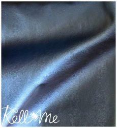 Textilbőr - metál matrózkék