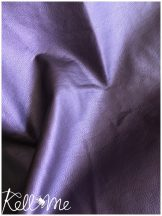 Textilbőr - metál lila