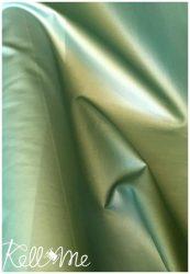 Textilbőr - metál menta