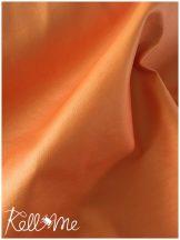Textilbőr - metál narancs