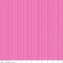 Floriography Stripes Pink 45×55 cm