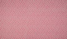 Rózsaszín alapon apró fehér háromszögek