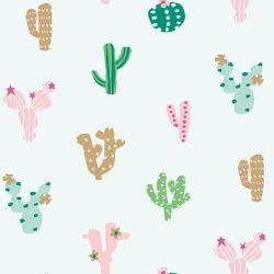 Ocean Drive Metallic Cactus