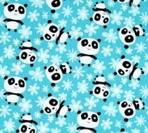 Pandas Fields of flowers Aqua