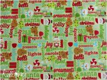 Santa Express Green Greatings