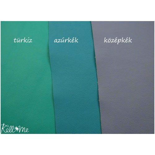 Textilbőr - azúrkék