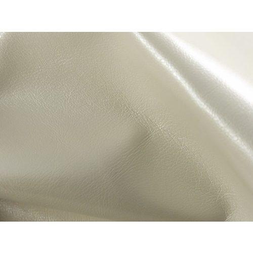 Textilbőr - gyöngyház fehér