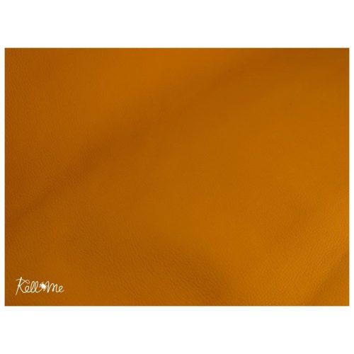 Textilbőr - világos narancs