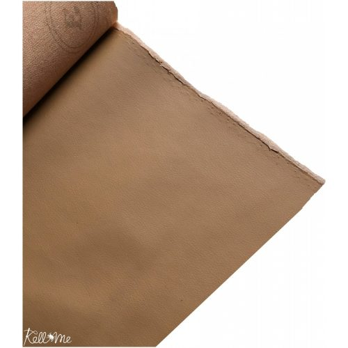 Textilbőr - natúr barna