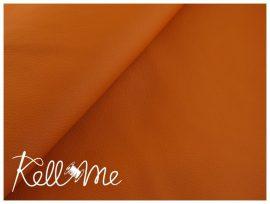 Textilbőr - sötét narancs