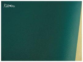 Textilbőr - türkiz, 145 cm széles