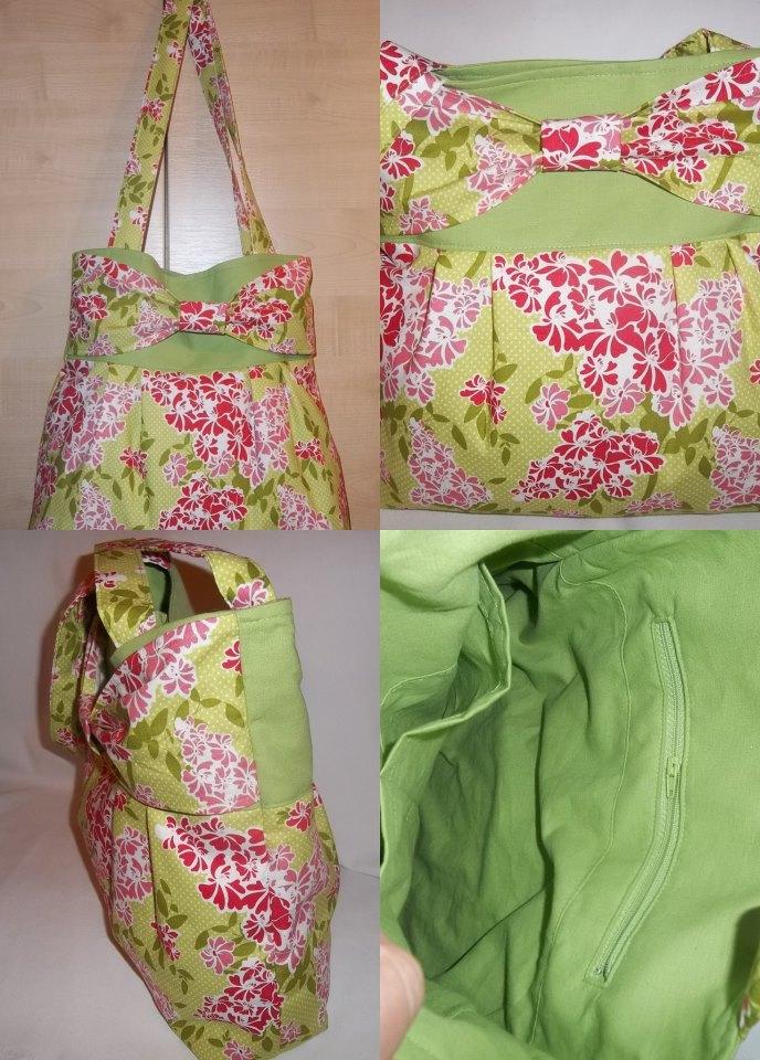 Textilből táska és tárca